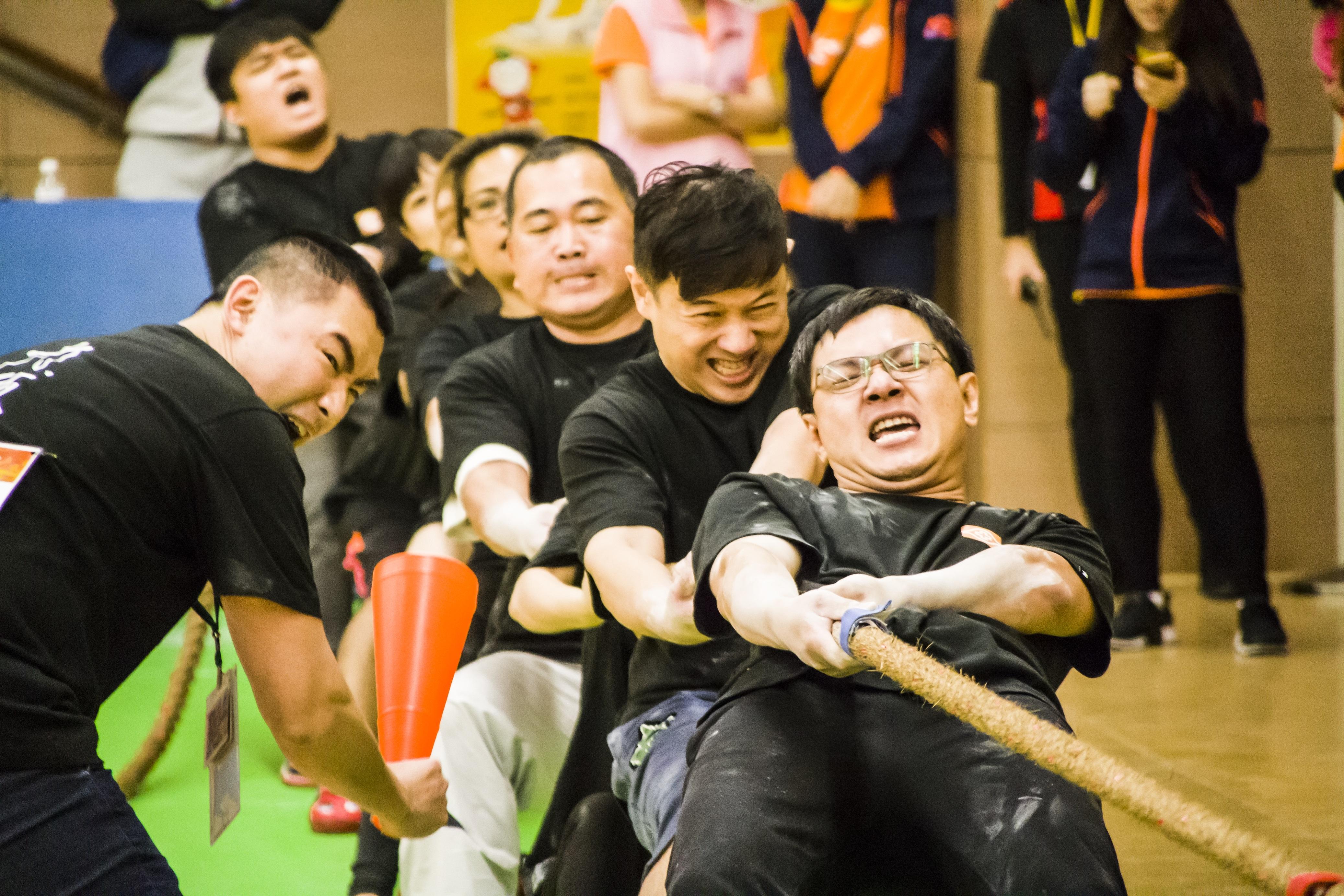 長庚永慶盃拔河賽總獎金近百萬 醫師、護理師也參賽
