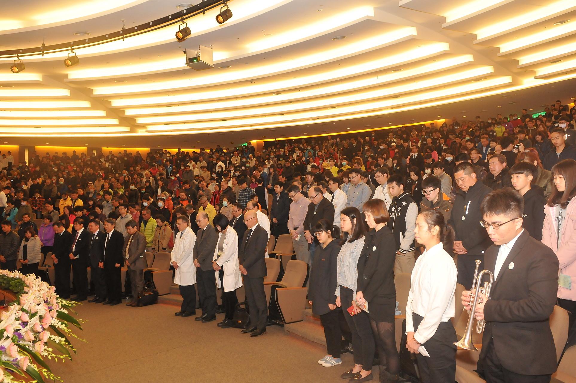愛傳承,延長生命,林口長庚紀念醫院舉辦器官捐贈與大體老師追思大會